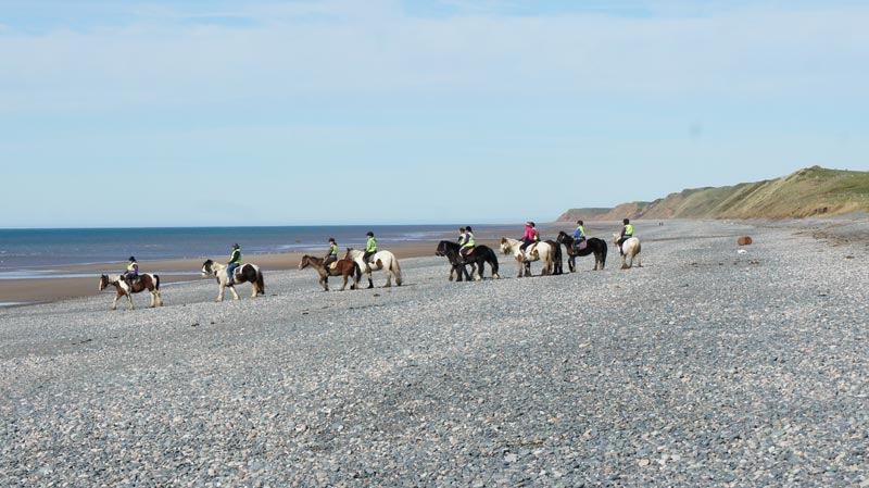 Silecroft Beach, Cumbria