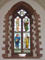 St. Martin's stained glass window.