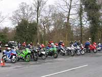 Bikes at Devils Bridge