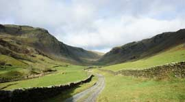 Longsleddale valley