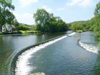 Newby Bridge weir