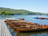 Rowing Boats at Bowness