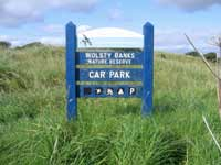 Wolsty Banks sign
